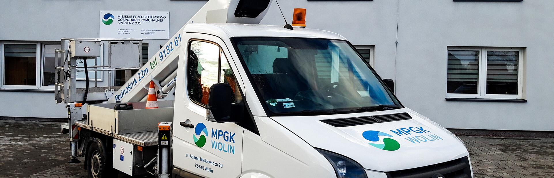 MPGK Wolin - podnośnik